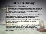 bill c 2 summary