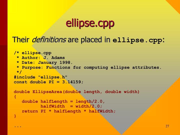 ellipse.cpp