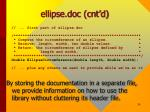 ellipse doc cnt d