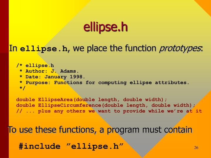 ellipse.h