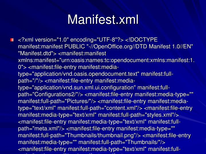 Manifest.xml