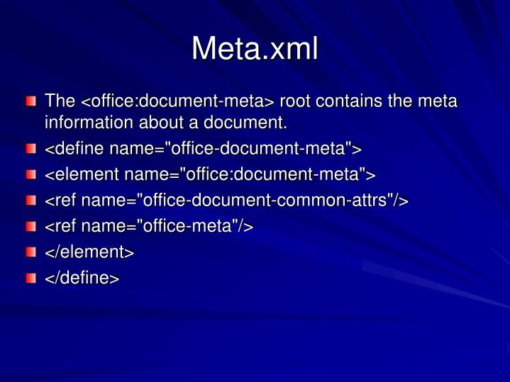 Meta.xml