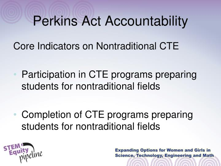 Perkins Act Accountability