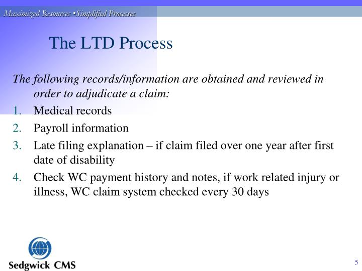 The LTD Process