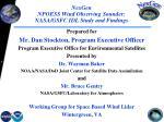 nexgen npoess wind observing sounder nasa gsfc idl study and findings