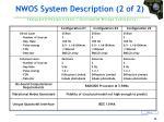nwos system description 2 of 2