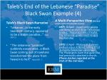 taleb s end of the lebanese paradise black swan example 4