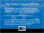 the turkey s change event 2