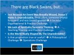 there are black swans but