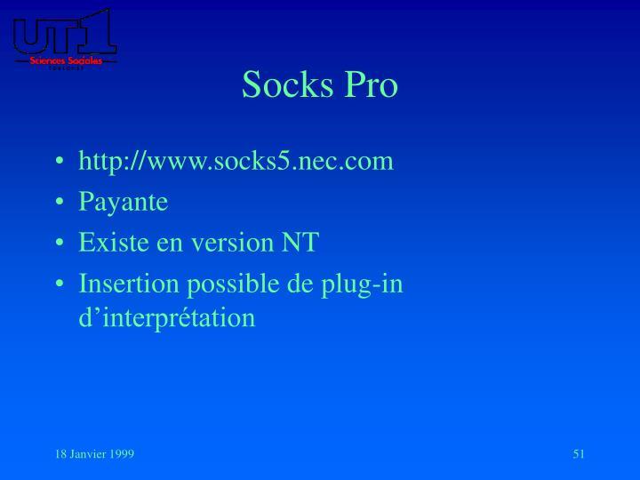 Socks Pro