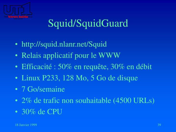 Squid/SquidGuard