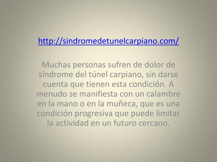 http://sindromedetunelcarpiano.com/
