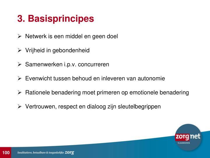 3. Basisprincipes