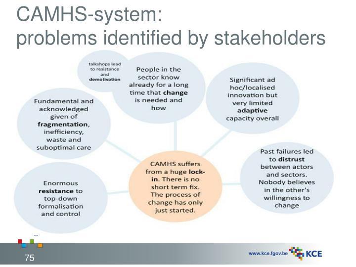 CAMHS-system: