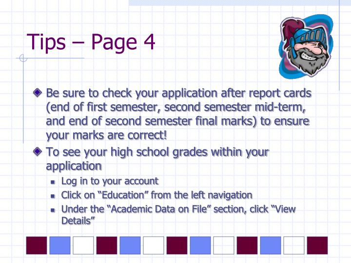 Tips – Page 4