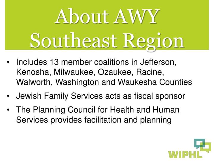 About AWY Southeast Region