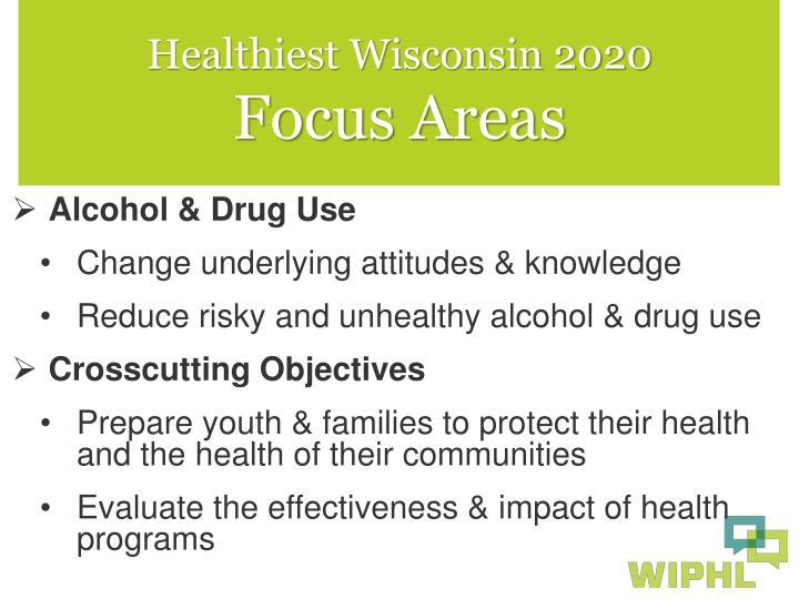 Healthiest Wisconsin 2020
