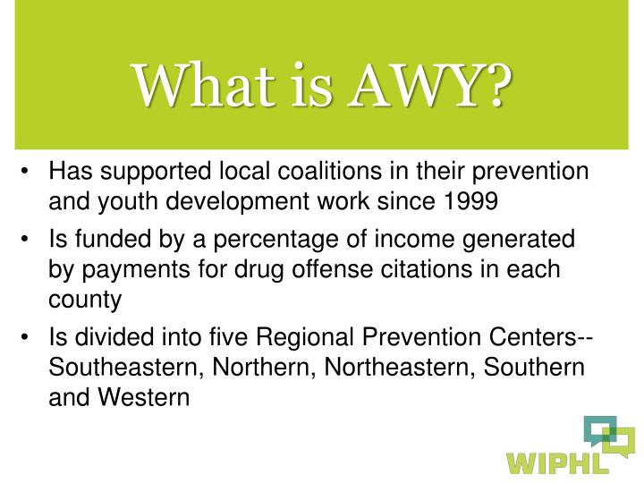 What is AWY?