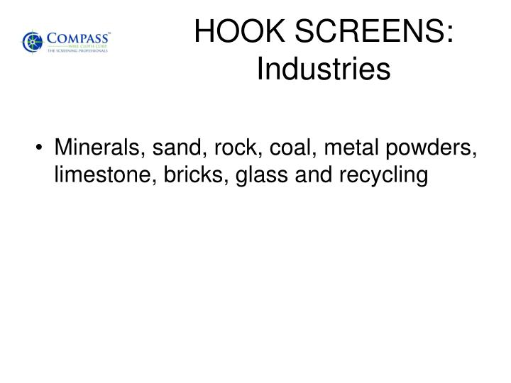 HOOK SCREENS:
