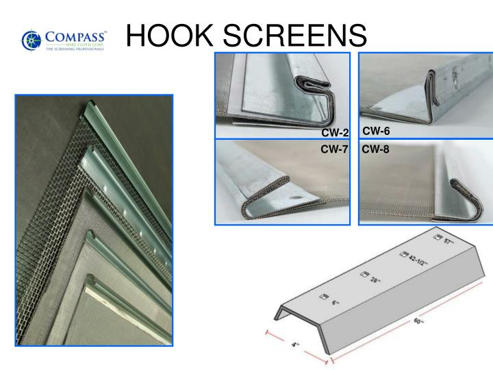 HOOK SCREENS