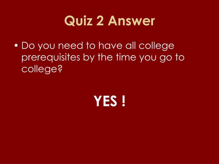 Quiz 2 Answer