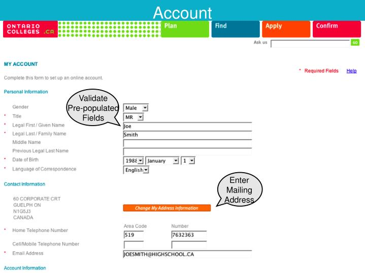 Create Extended Account