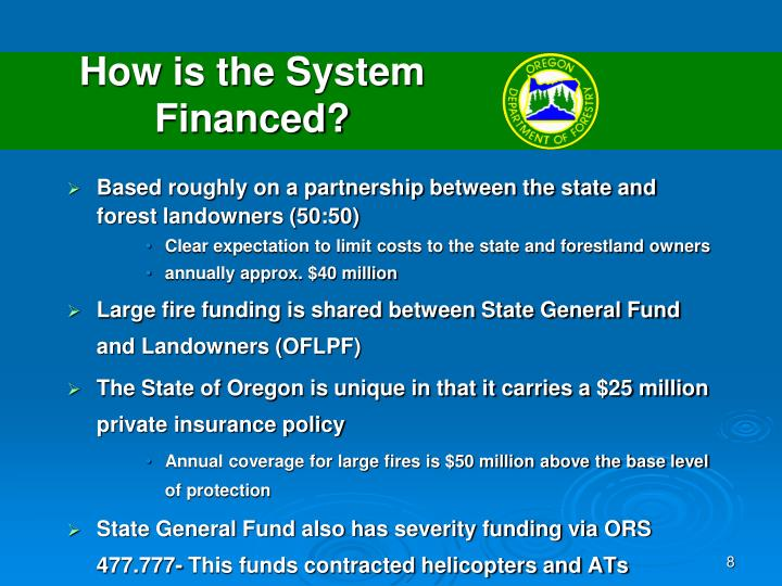 How is the System Financed?