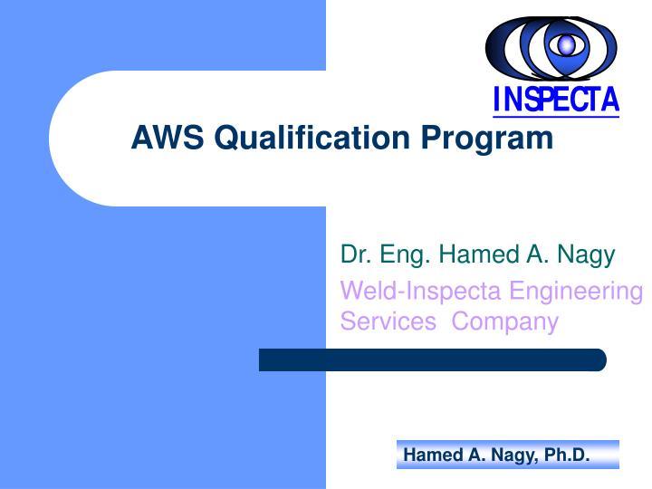AWS Qualification Program