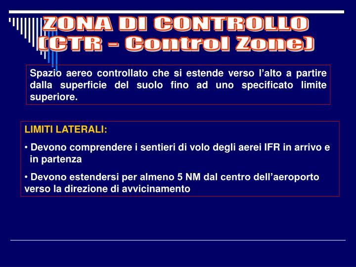 ZONA DI CONTROLLO
