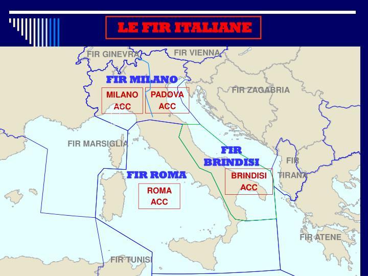 LE FIR ITALIANE
