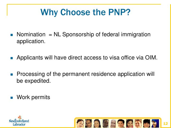 Why Choose the PNP?