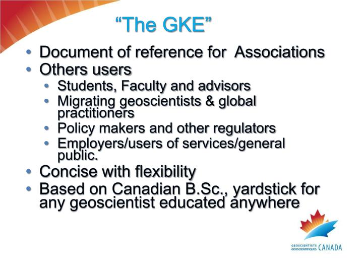 """""""The GKE"""""""