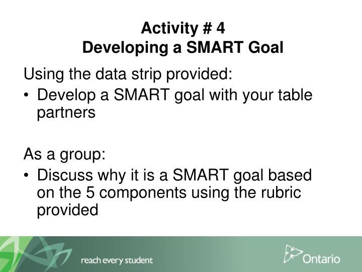 Activity # 4