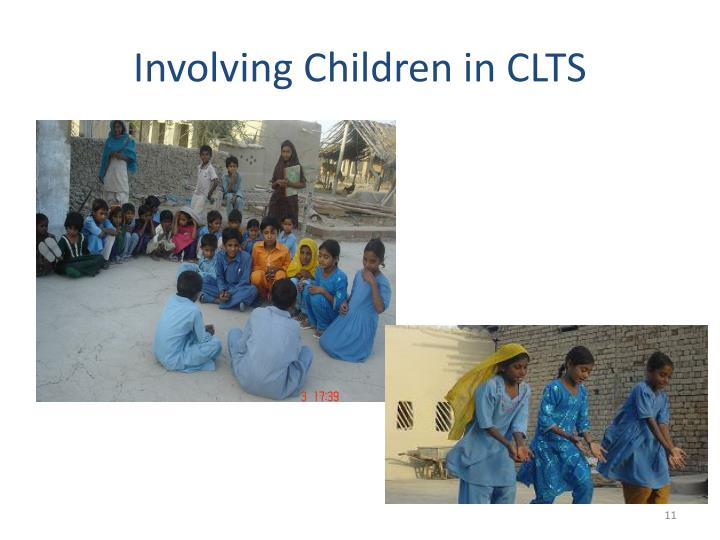 Involving Children in CLTS
