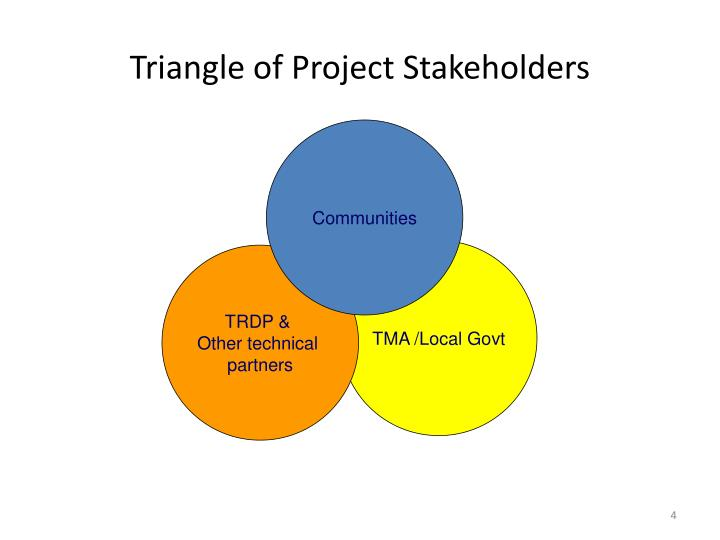 Triangle of Project Stakeholders