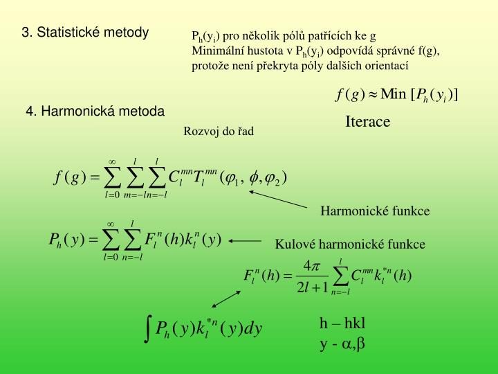 3. Statistické metody