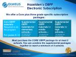 hazelden s obpp electronic subscription