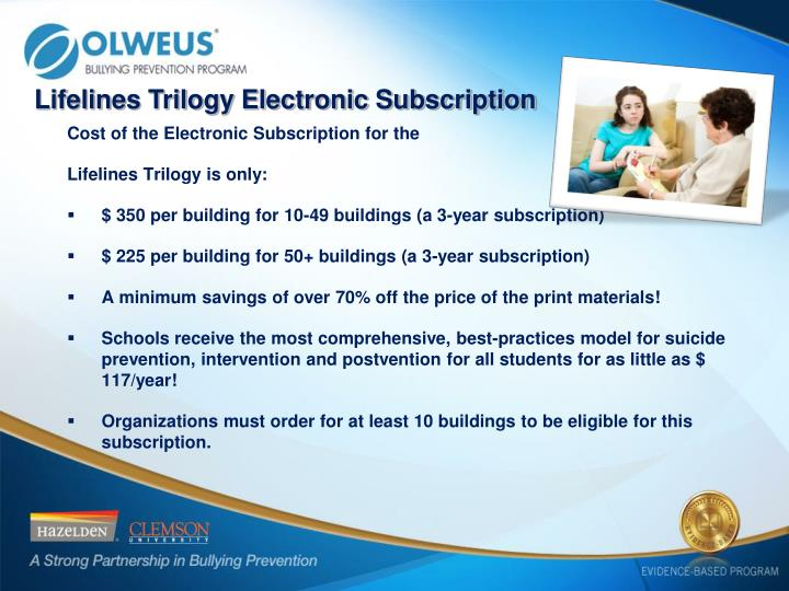 Lifelines Trilogy Electronic Subscription