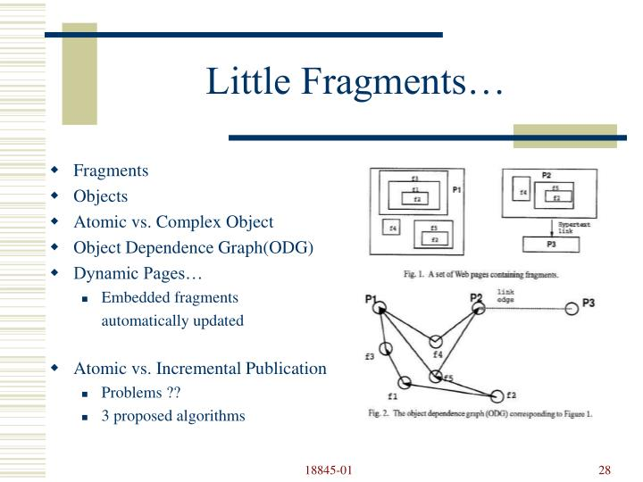 Little Fragments…
