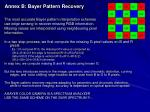 annex b bayer pattern recovery