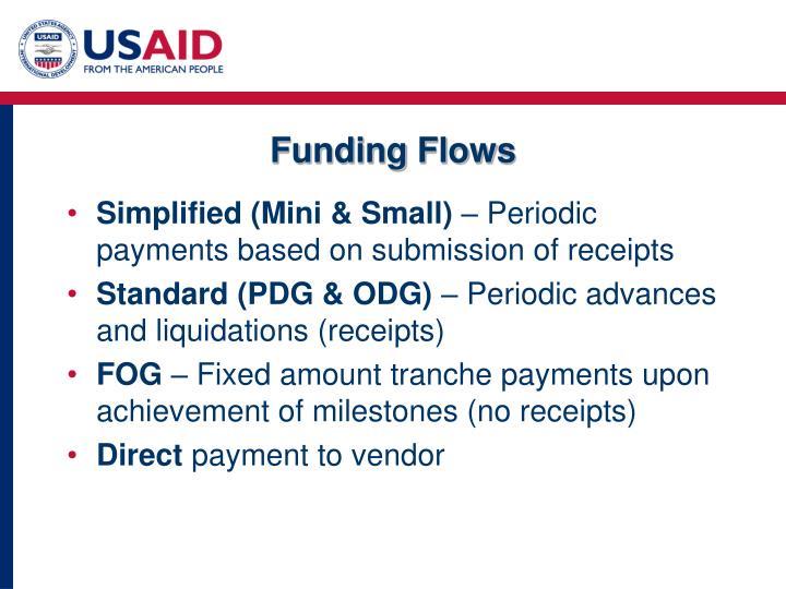 Funding Flows