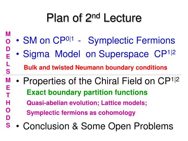 Plan of 2