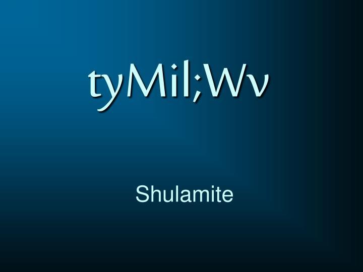 tyMil;Wv