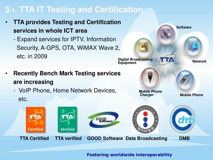 TTA Certified