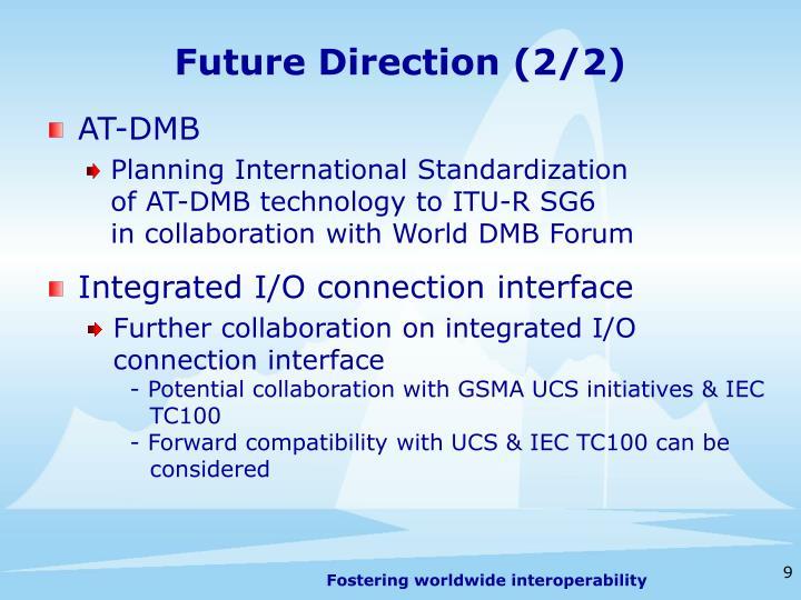 Future Direction (2/2)