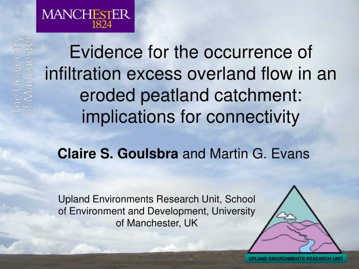 UPLAND ENVIRONMENTS RESEARCH UNIT