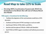 road map to take clts to scale2