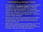 contemporary nuclear power1