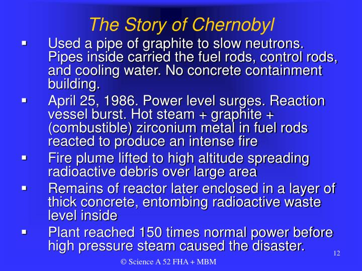 The Story of Chernobyl