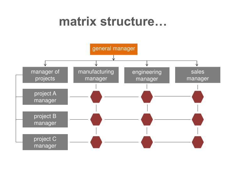 matrix structure…